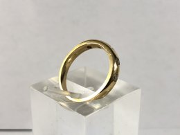 Alliansring 18k 0,25ct